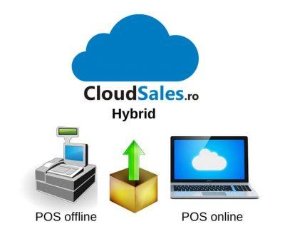 Software POS offline vanzari cu casa de marcat, conectat la cloudgest