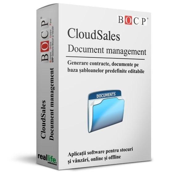 emitere documente, contracte, oferte de pret, sabloane predefinite, devize