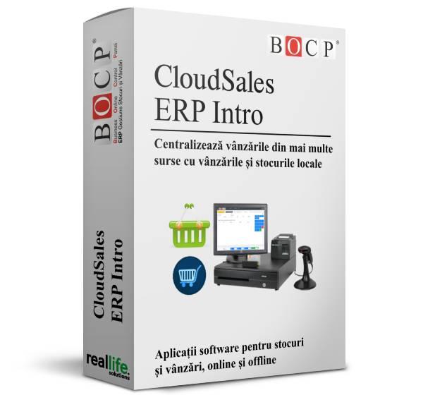 CloudSales ERP vanzari, pachet intro